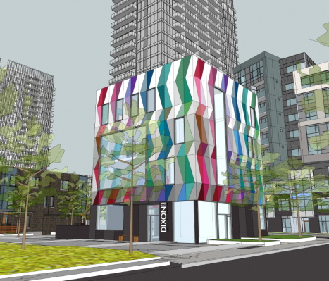 Updated Youth Centre Rendering
