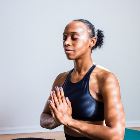 photo of woman practicing mindfulness