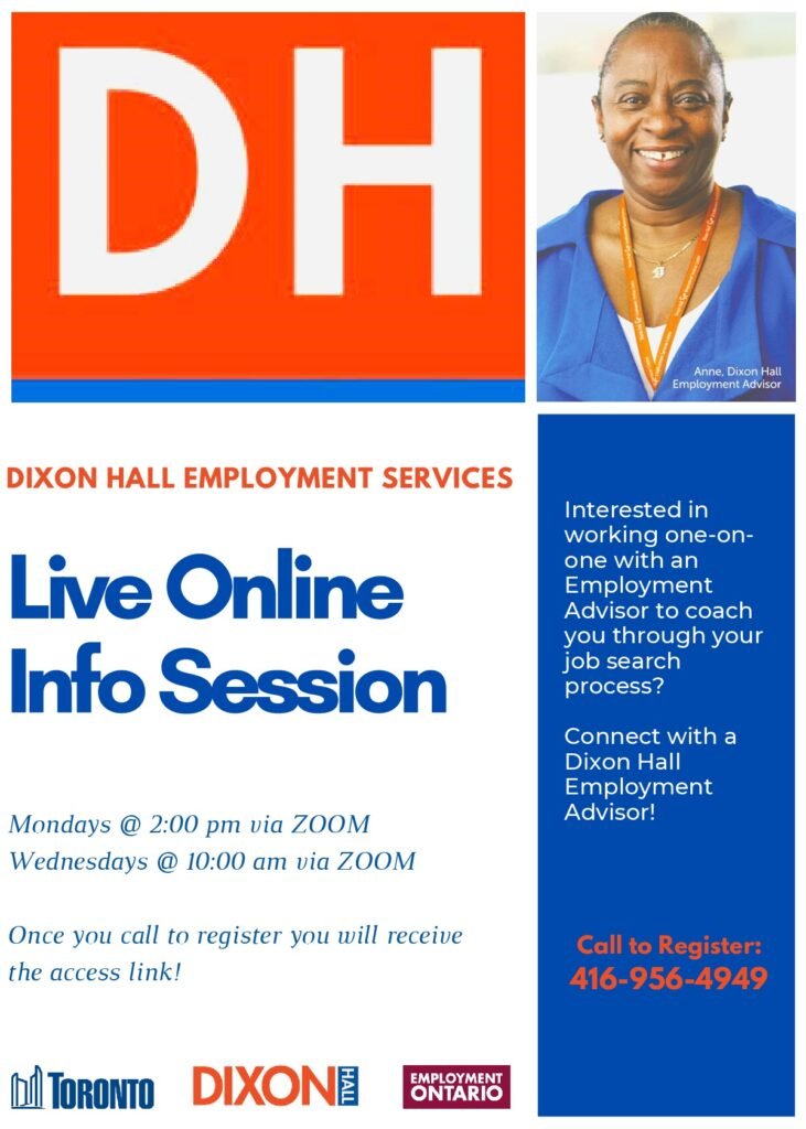 Employment Services - Information Session